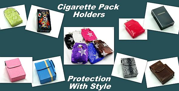 Cigarette Pack Holders